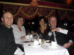 we all thoroughly enjoyed our evening on the Colonial Tramcar Restaurant , Lorraine K - September 2012