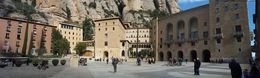 Santa Maria de Montserrat Abbey , S G - January 2016