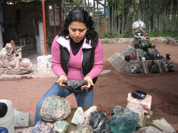 In a shop you may buy souvenirs made of obsidian and other semi-precious stones. , Olga N - December 2014