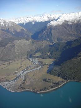 Photo of Queenstown Milford Sound Helicopter Tour from Queenstown Southern Alps with lake