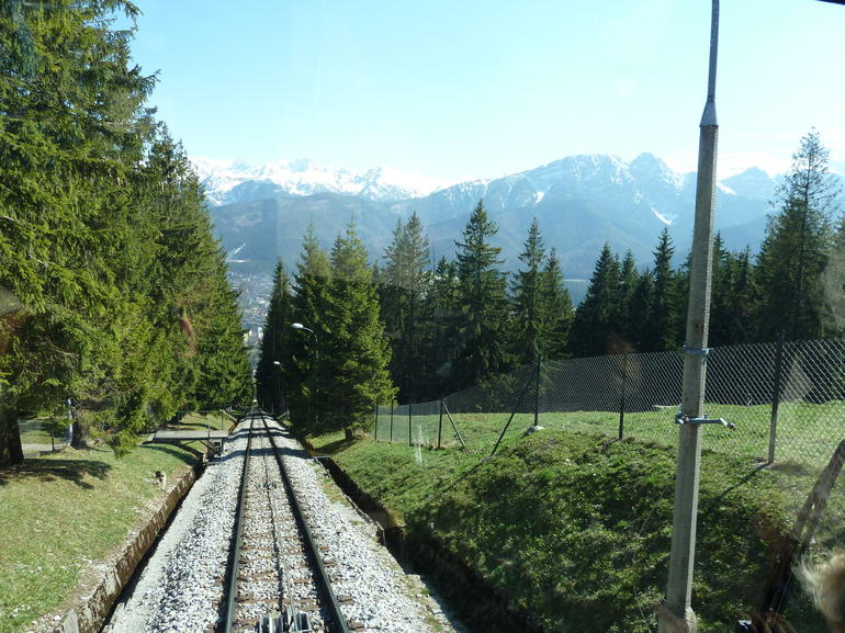 Tatra Mountains from cable car in Zakopane - Krakow