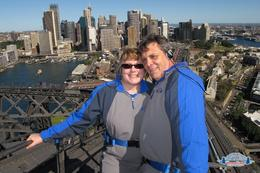 Photo of Sydney Sydney BridgeClimb this is on the very top of the bridge