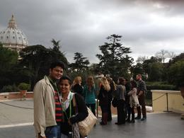 Photo of Rome Skip the Line: Vatican Museums Walking Tour including Sistine Chapel, Raphael's Rooms and St Peter's View from Vatican Musuem