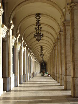 Photo of   Archways in Comercio Square