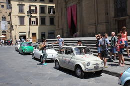 Photo of Florence Self-Drive Vintage Fiat 500 Tour from Florence: Tuscan Hills and Italian Cuisine At the end