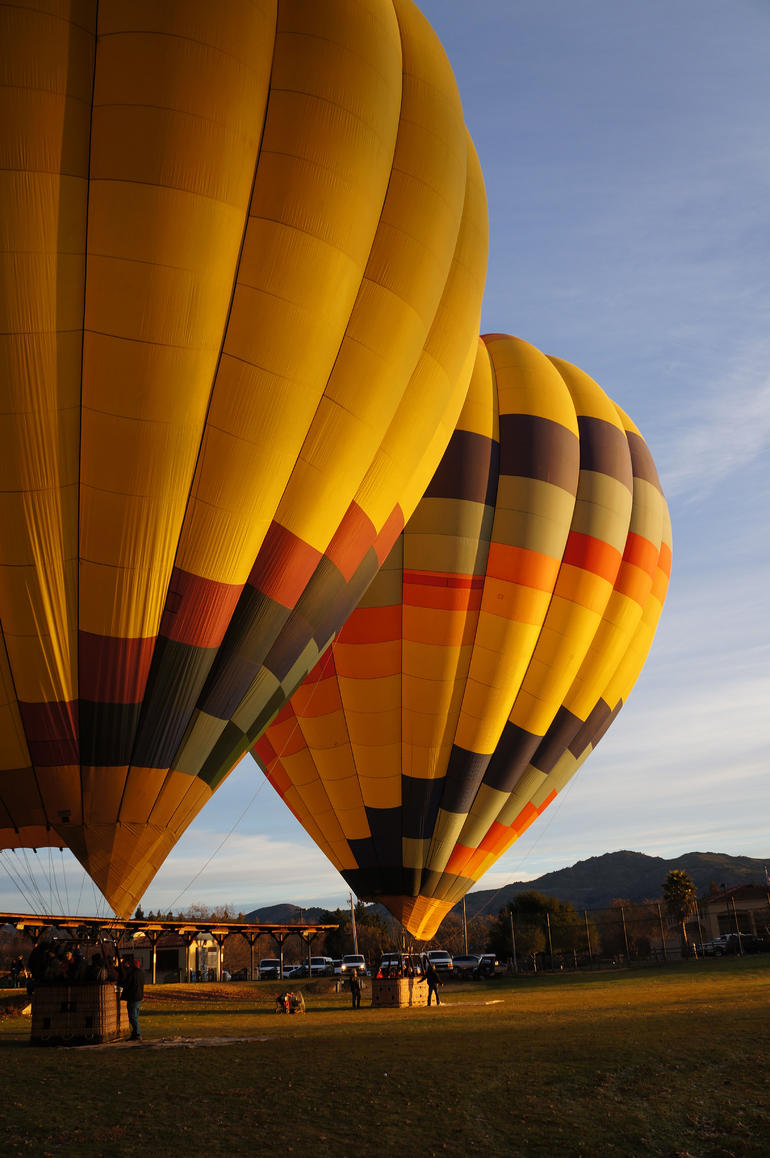 balloons in the morning - Napa & Sonoma