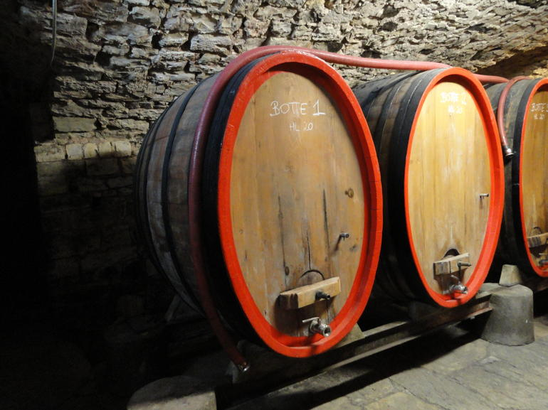 Barrels in the castle - Florence