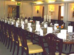 Photo of Edinburgh The Royal Yacht Britannia Britannia, Main Dining Room