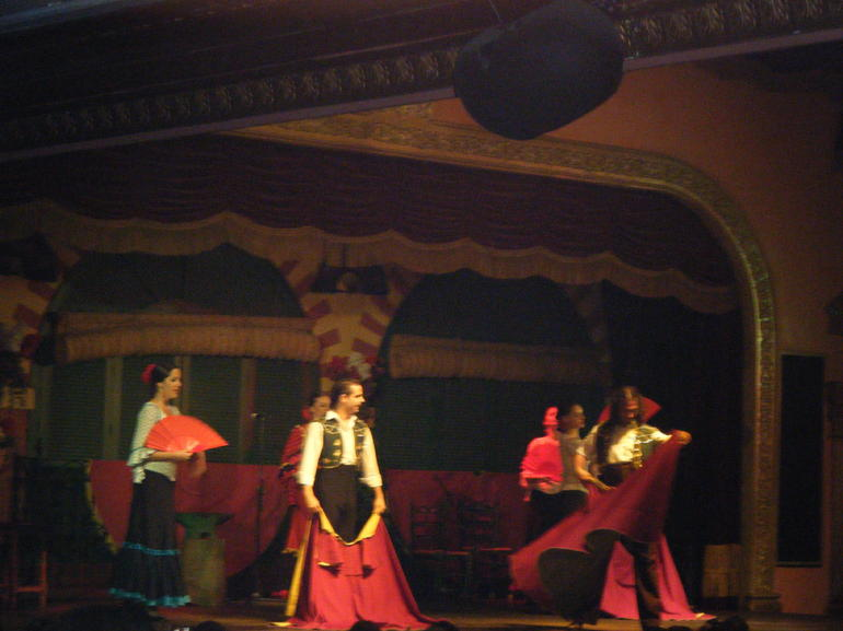 DSCF4268 Flamengo show with dinner - Seville
