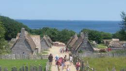 Photo of Boston Plimoth Plantation Living Museum Day Trip from Boston English Village