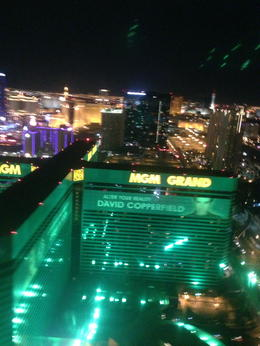 Flying over MGM Grand... , Erue - January 2013