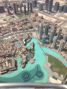Photo of Dubai Burj Khalifa 'At the Top' Entrance Ticket From the top