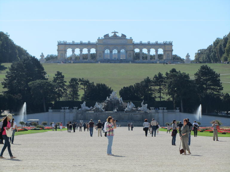 Gloriette at Schonbrunn Palace - Vienna