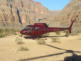 Photo of Las Vegas Grand Canyon All American Helicopter Tour Helicopter taking off!