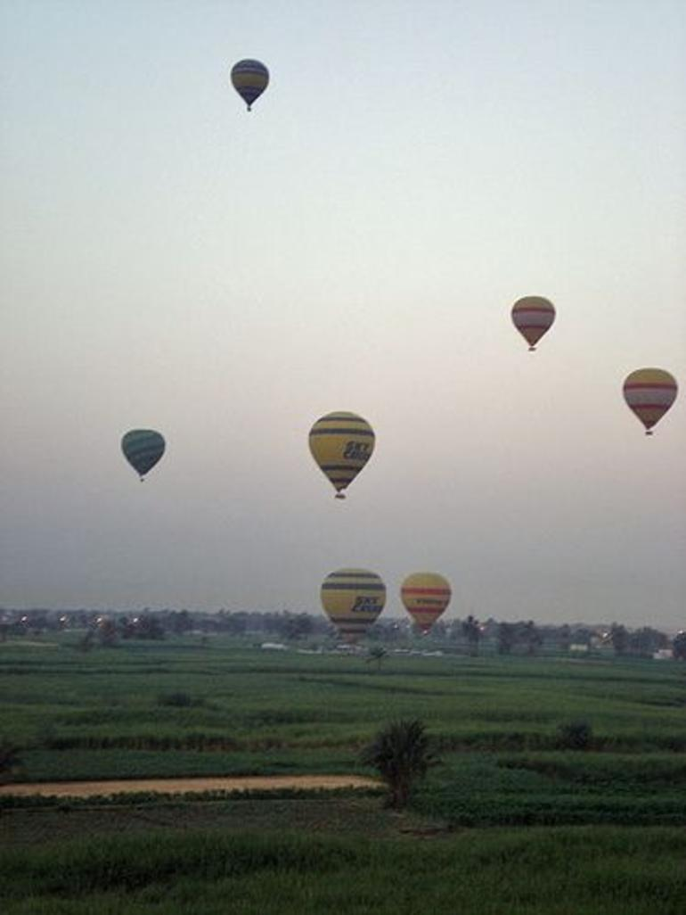 Hot Air Balloon in Luxor - Luxor