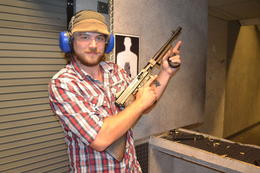 Photo of Las Vegas Viator Exclusive: Las Vegas Gun Store and Firing Range Package Making friends with Thompson