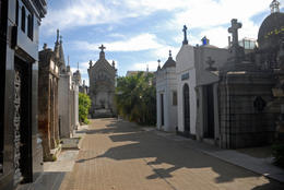 Photo of   Mausoleums, Recoleta Cemetery, Buenos Aires, Argentina