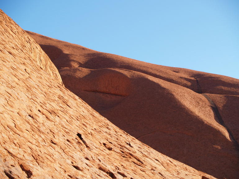 Moonscape in Walpa Gorge - Ayers Rock