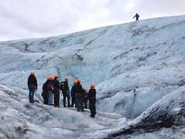 Photo of Reykjavik Day Trip from Reykjavik: Glacier Hiking and Ice Climbing on Iceland's Sólheimajokull Glacier Prep for the ice wall climb!