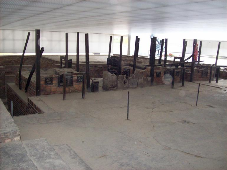 Remains of the Cremation Ovens - Berlin
