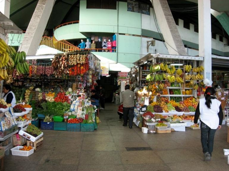 The Entrance to the Market - Lima