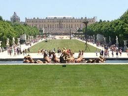 Photo of Paris Versailles by Bike Day Tour Versailles Palace, from the 'backyard'