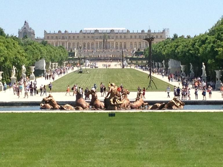 Versailles Palace, from the 'backyard' - Paris