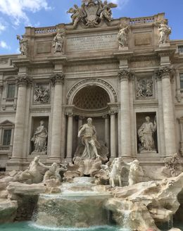 Tossed a coin into the Trevi so that we will return. , Richard Y - May 2016