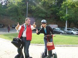 Leaning how to ride the Segway in Rome..., Jennifer T - March 2009