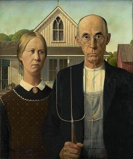 Photo of   American Gothic