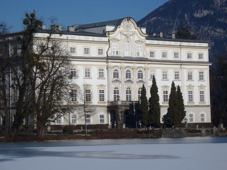 Back of VonTrapp House - Salzburg