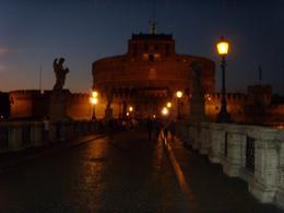 Photo of Rome Rome Tiber River Night Cruise with Dinner or Wine Castle Saint Angelo