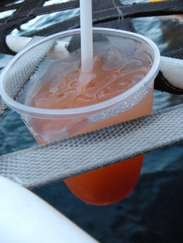 You can't have a sunset cruise without a fruity cocktail!, JennyC - October 2011