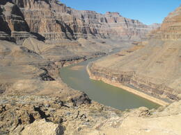 Great views of the Colorado river., Lindy - March 2013