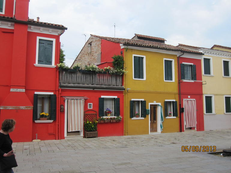 colorful homes - Venice
