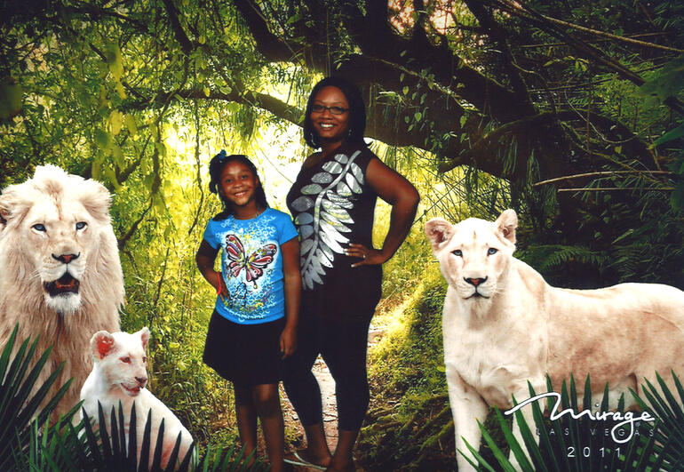 In Siegfried and Roy's Secret Garden - Las Vegas
