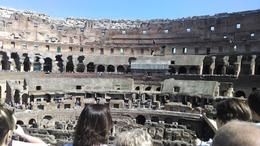 Viewing from inside the Colosseum , David S - May 2014