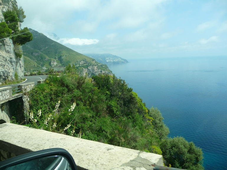 Road on coast - Naples