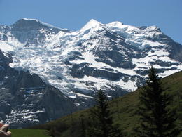 Photo of   Swiss alps