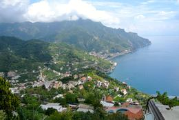Driving down the coast to Positano. , Anthony D - September 2014