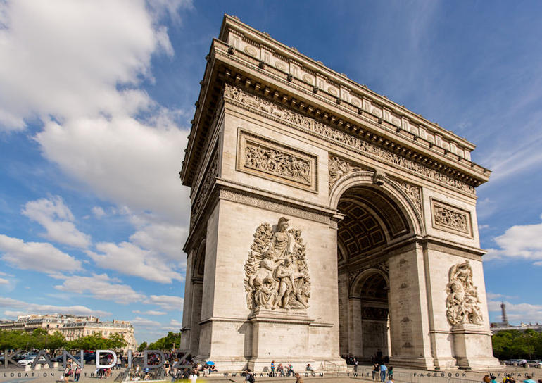 The Arc of Triumph - Paris