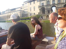 Photo of Florence Florence River Cruise on a Traditional Barchetto The river Arno