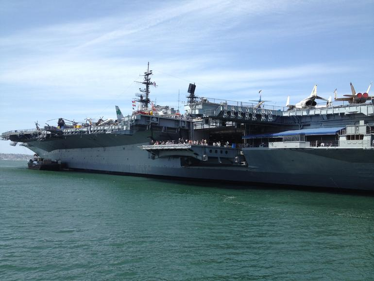 The USS Midway - San Diego