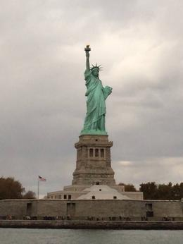 Our fabulous view of Lady Liberty! , Janet L F - November 2013