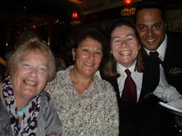 they helped make our night Thank you. Margaret,Doris and staff having a good laugh, Basil B - September 2010