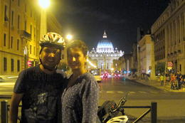 Bike stop near the Vatican , Aditya G - September 2014