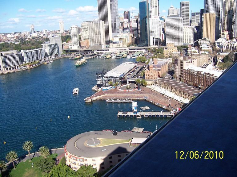 bridge pylon lookout - Sydney