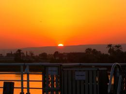 What a Sunset at Edfu , Christopher G - August 2012