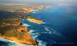 Twelve Apostles: a shot I took from the helicopter...Melbourne is breathtaking!, Maria Suzette C - June 2010