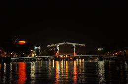 Photo of Amsterdam Amsterdam Canals Candlelight Cruise Magere Brug (Skinny Bridge)
